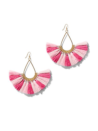 FTF Flirty Fringe Earring - New York & Company
