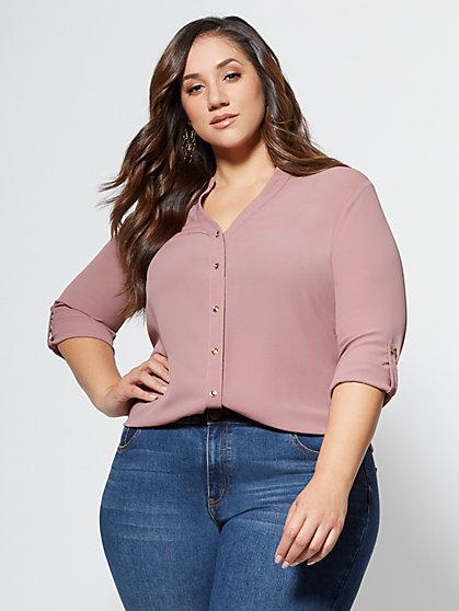 FTF Georgette Blouse - New York & Company