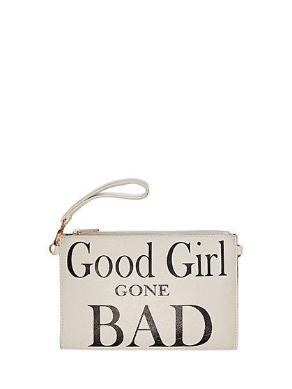 FTF Girl Gone Bad Wristlet Purse - New York & Company