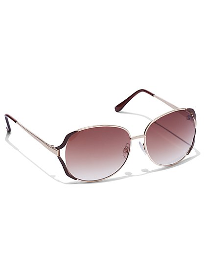 FTF Glam Oversized Sunglasses - New York & Company