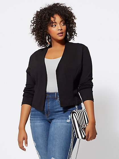 FTF Good Form Ponte Blazer - New York & Company