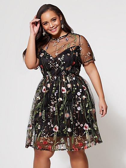 FTF Haley Flare Dress - New York & Company