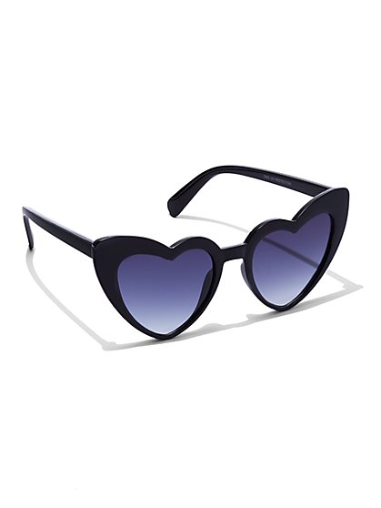 FTF Heart Shaped Sunglasses - New York & Company