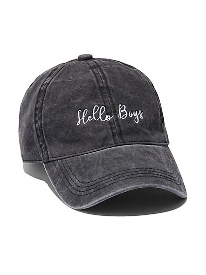 FTF Hello Boys Baseball Cap - New York & Company