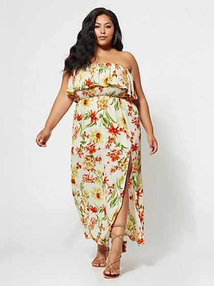FTF Hilary Off-Shoulder Maxi - New York & Company