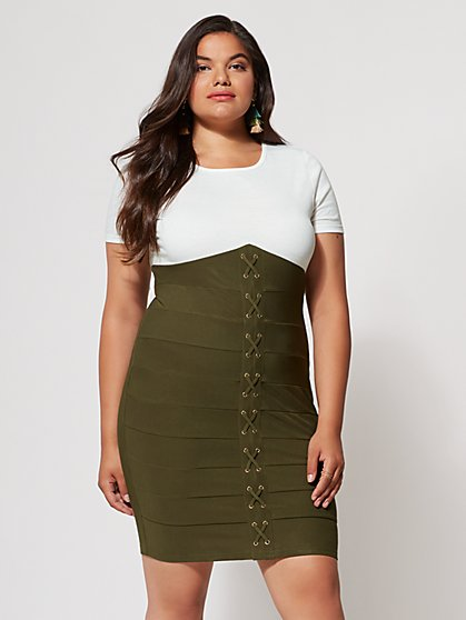 FTF Justine Bodycon Dress - New York & Company