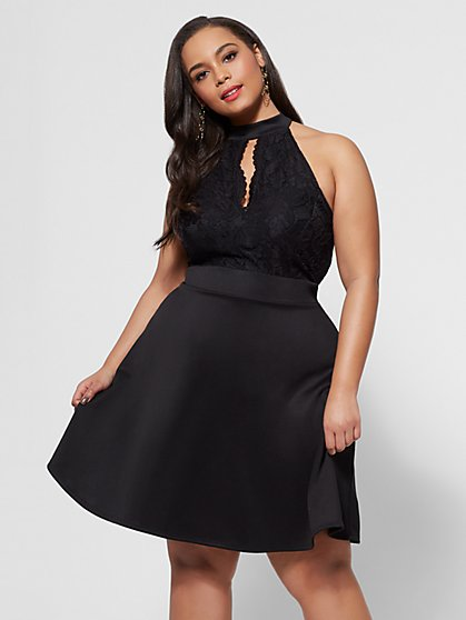 FTF Kara Flare Dress - New York & Company