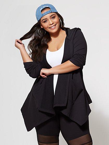 FTF Kayla Hooded Jacket - New York & Company