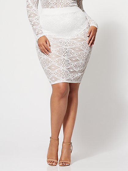 FTF Lana Lace Panty Skirt - New York & Company