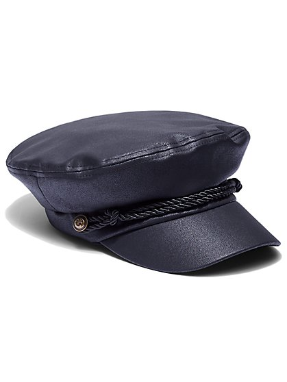 FTF Leather Fisherman Cap - New York & Company