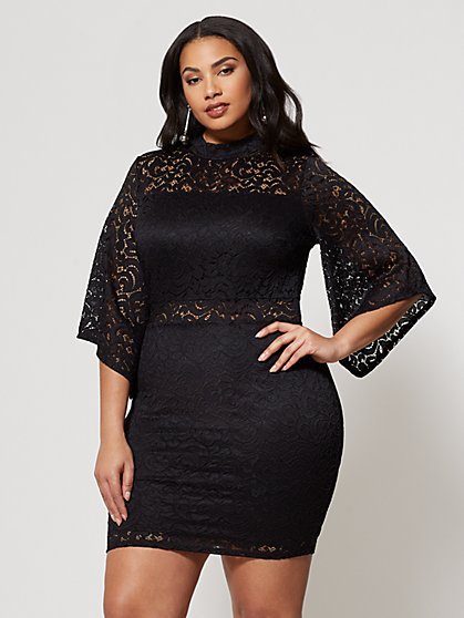 FTF Lucy Bodycon Dress - New York & Company