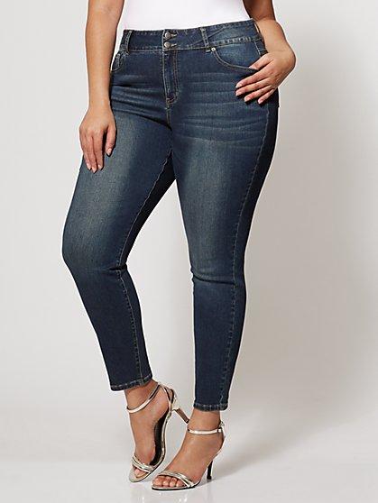 FTF Lycra Beauty® High Waist Skinny Jeans - New York & Company