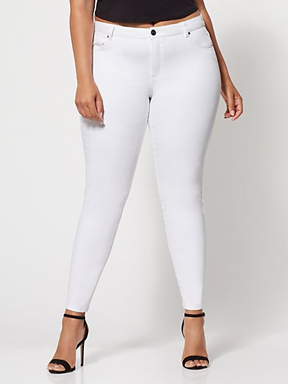 FTF Lycra® Beauty Premium White Skinny Jeans - New York & Company