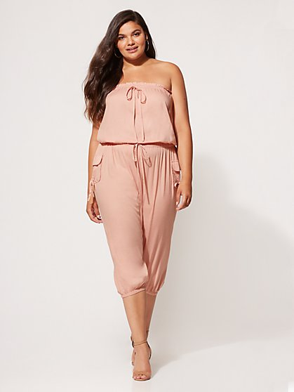 FTF Mariana Sleeveless Jumpsuit - New York & Company