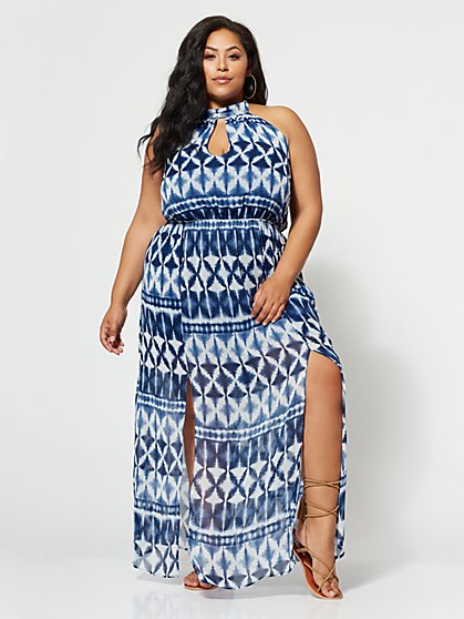 FTF Santorini Maxi Dress - New York & Company