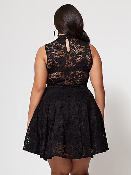 Elegant black cocktail dress 24 hour delivery