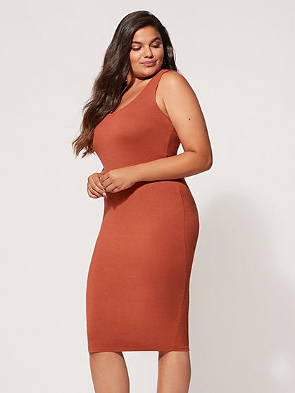 FTF Signature - Sleeveless Everyday Midi Dress - New York & Company