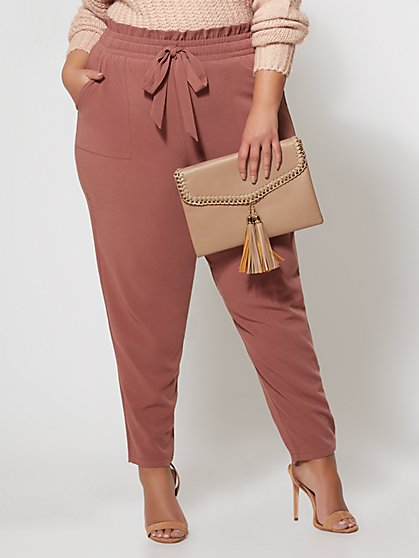 FTF Signature - Sonya Paper Bag Pant - New York & Company