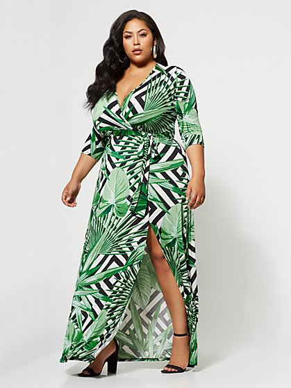 FTF Signature - Sophie Wrap Dress - New York & Company