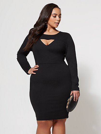 FTF Sophia Cutout Dress - New York & Company