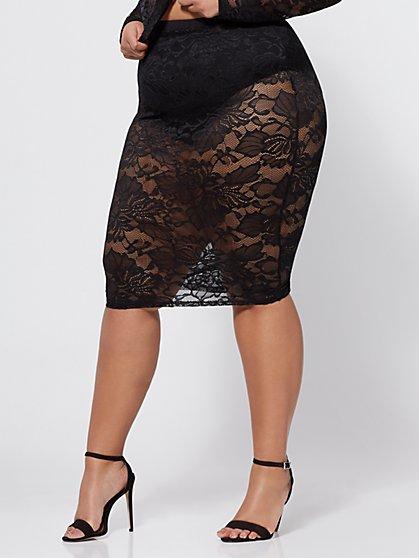 FTF Tara Lace Skirt - New York & Company