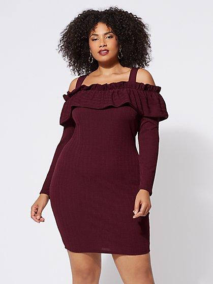 FTF Valerie Cold Shoulder Dress