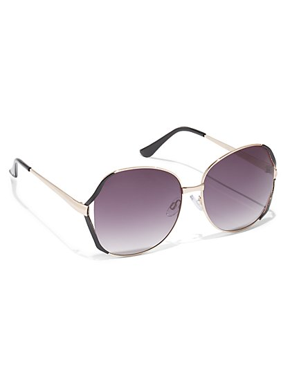 FTF Vented-Frame Sunglasses - New York & Company