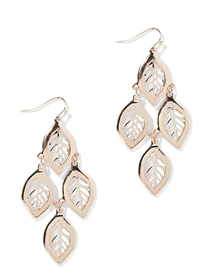 Four-Leaf Drop Earring - New York & Company