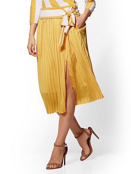 Full Pleated Skirt - New York & Company
