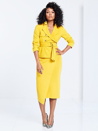 Gabrielle Union Collection - Crop Trench Coat - New York & Company