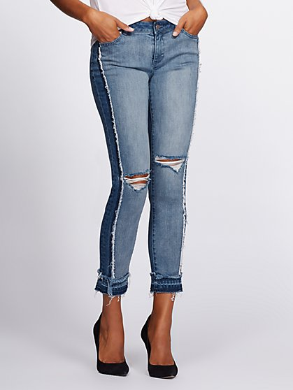 Gabrielle Union Collection - Tall Destroyed Boyfriend Jean - New York & Company