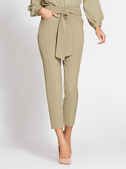 Gabrielle Union Collection - Tie-Front Straight-Leg Pant - New York & Company