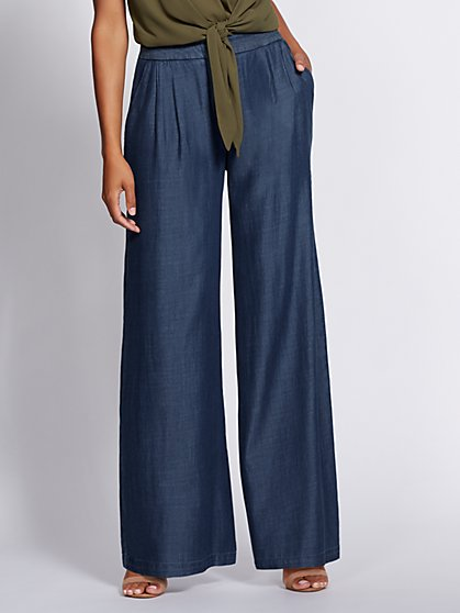 Gabrielle Union Collection - Wide-Leg Jean - New York & Company