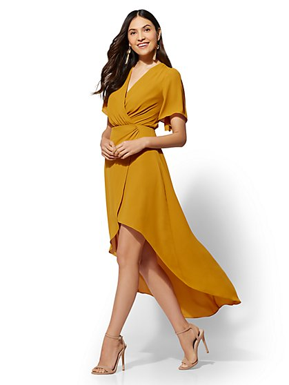 Hi-Lo Maxi Dress - New York & Company