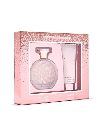 NY&C Beauty - Fragrance Gift Set - New York, New York Eau de Parfum & Body Lotion - New York & Company
