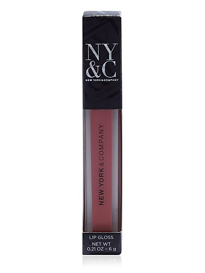 NY&C Beauty - Lip Gloss - Nude - New York & Company