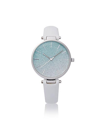 Ombre Glitter Watch - New York & Company