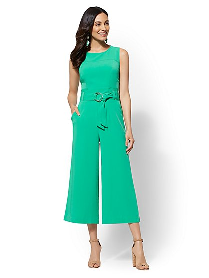 Paperbag-Waist Jumpsuit - New York & Company