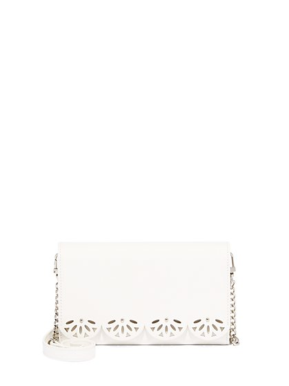 Perforated Clutch Wallet - New York & Company