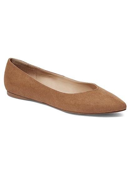 Pointed-Toe Flat - New York & Company