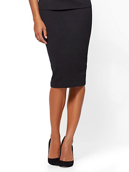 Pull-On Pencil Skirt - New York & Company