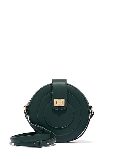 Round Crossbody Bag - New York & Company