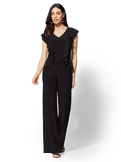 Ruffled Jumpsuit - New York & Company
