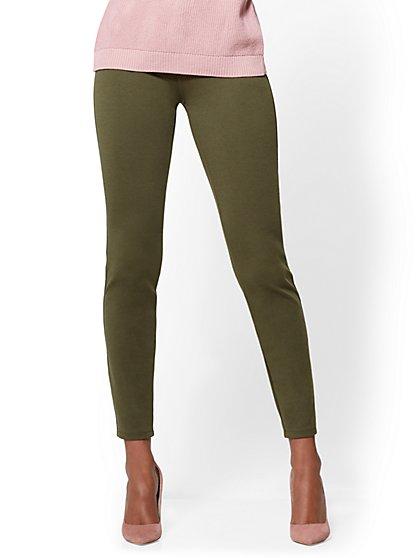 Soho Jeans - 5-Pocket Legging - Ponte - New York & Company