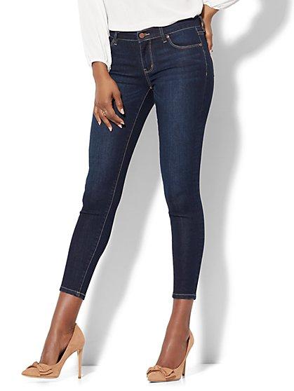Soho Jeans - Ankle Legging - Blue Hustle Wash - New York & Company