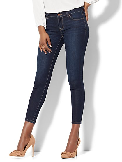 Soho Jeans - Ankle Legging - Blue Hustle - New York & Company