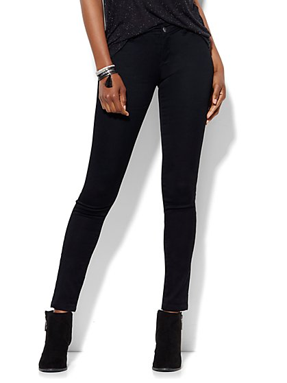 Soho Jeans - Black SuperStretch Legging - New York & Company