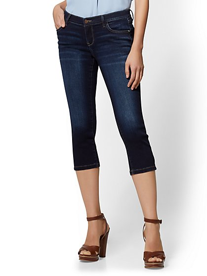 Soho Jeans - Crop Legging - Blue Tease Wash - New York & Company