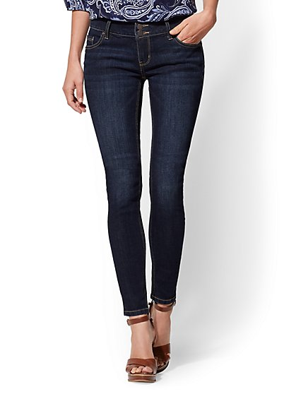 Soho Jeans - Curve Creator Legging - Blue Hustle Wash - New York & Company