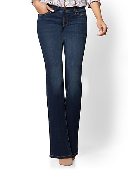 Soho Jeans - Curvy Bootcut - Flawless Blue Wash - New York & Company